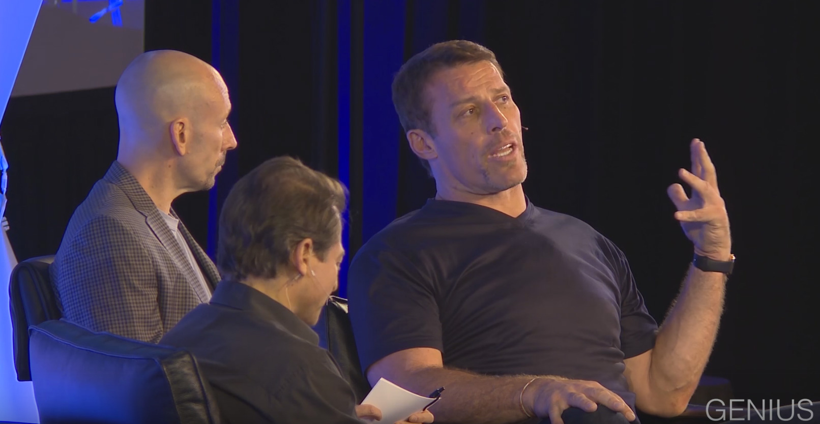 Tony Robbins, Peter Diamandis and Joe Polish